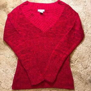 Pink Shimmering Sweater. Size Medium